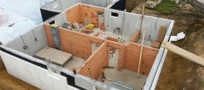 Unser Keller wächst und gedeiht / Perimeterdämmung