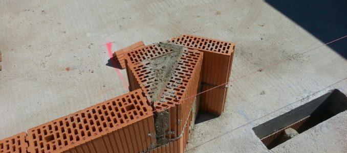 Garagendecke betonieren – Obergeschossinnenwände