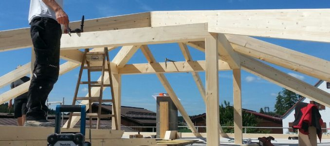 Unser Dachstuhl – Dachdämmung