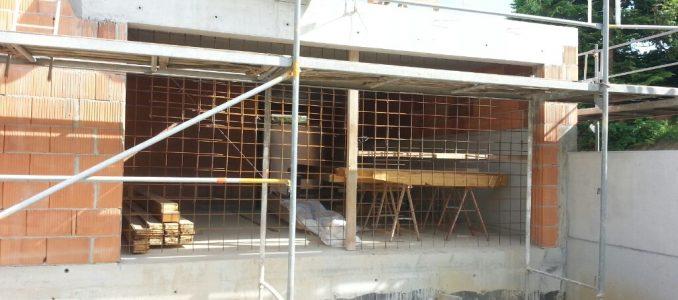 Keller trocken legen – Aufräumen – Provisorisches Garagentor