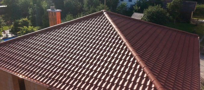 Und fertig ist unser Hausdach…
