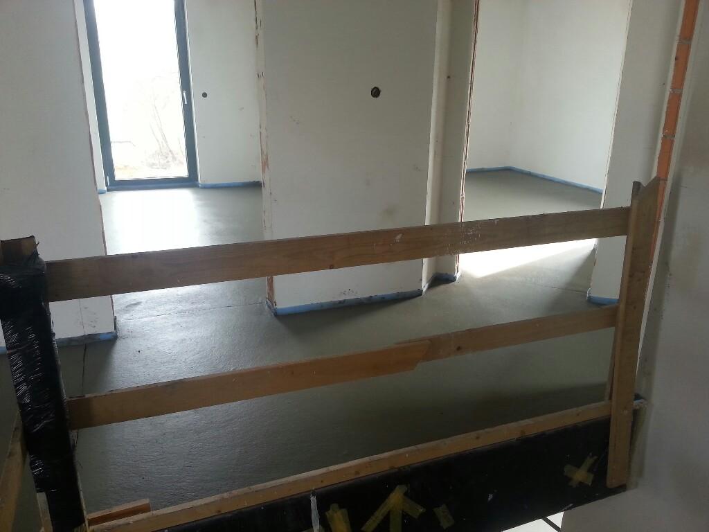Der Estrich – Obergeschoss und erster Teil des Erdgeschosses