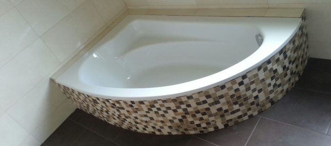 Und schon glänzt unser Bad