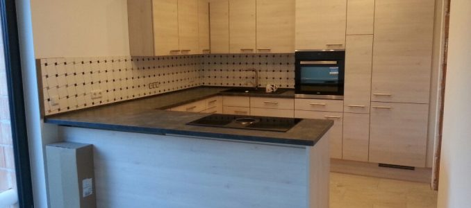 ! ! ! Wir haben eine Küche ! ! !