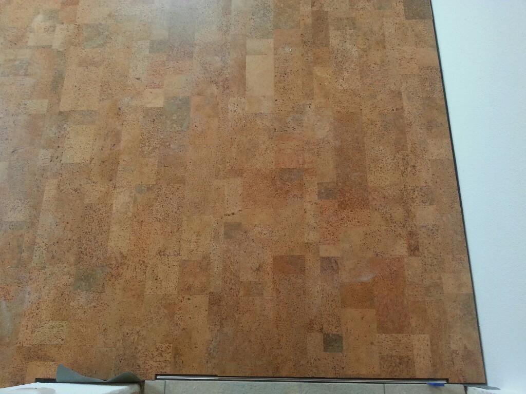 Der erste Holzboden