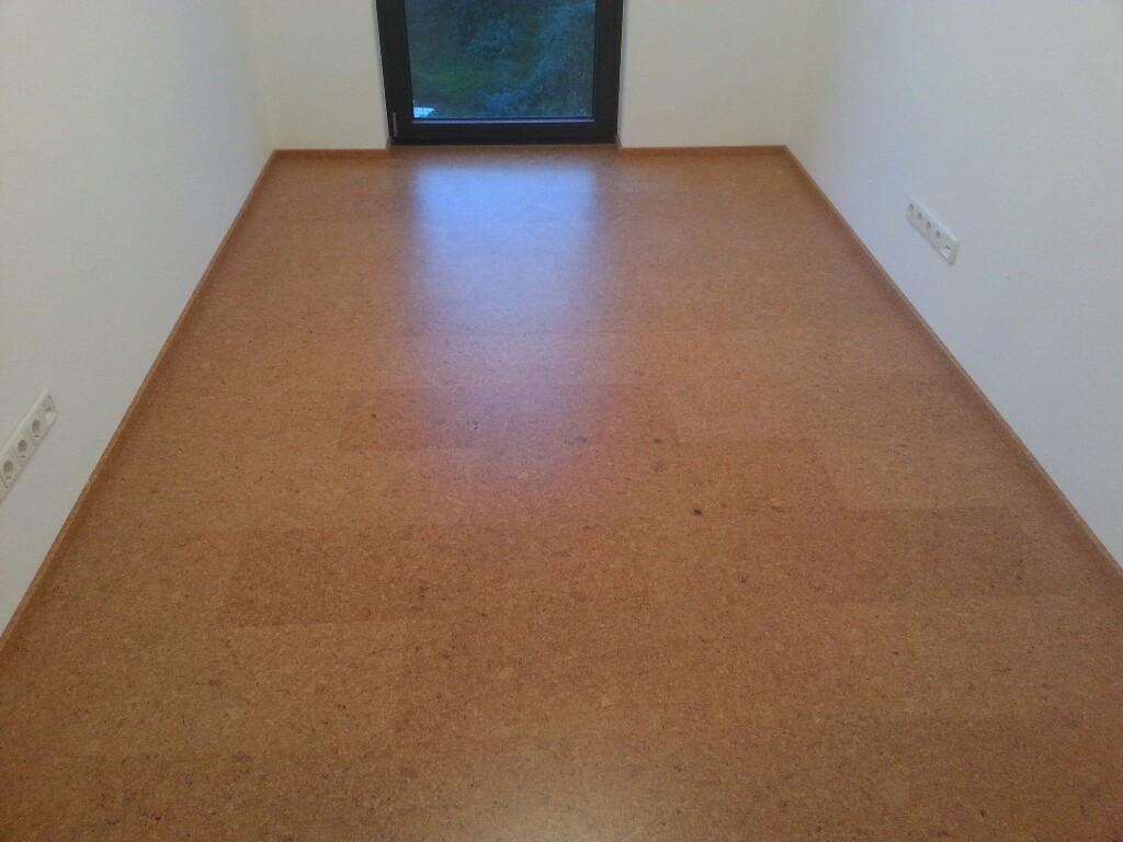Fußbodenleisten in den oberen Räumen