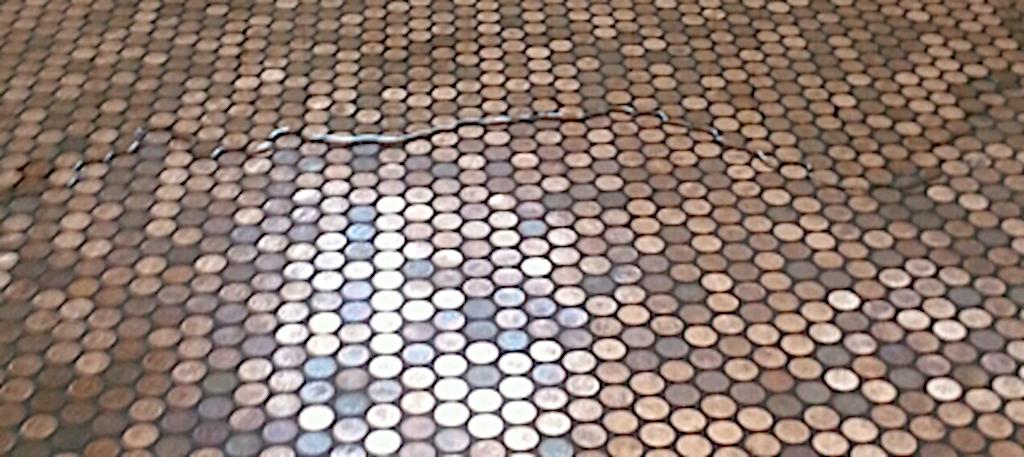 Penny Floor, die Versiegelung