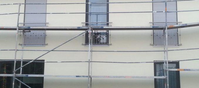 Schwedische Gardinen?? Nö, Französische Balkone!!