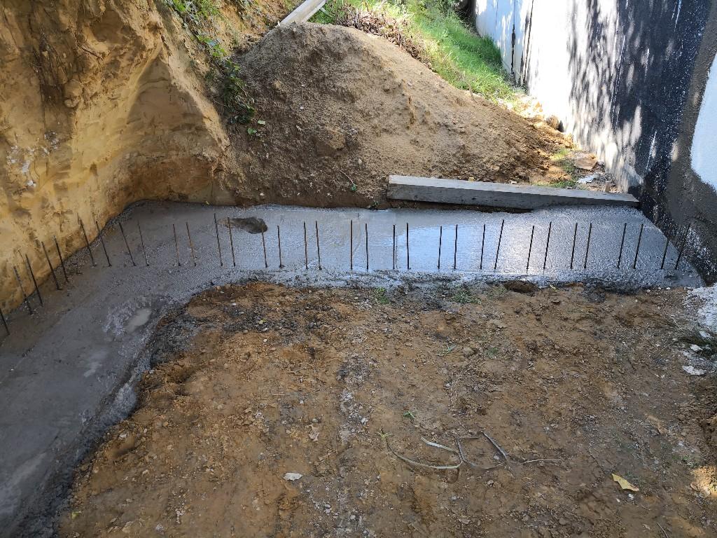 4,5 m³ Beton später…