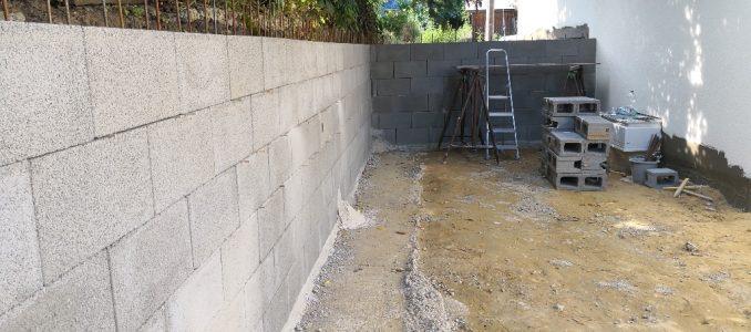 Mauern und weiter betonieren