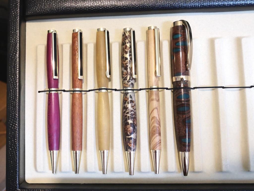 Stifte drechseln…