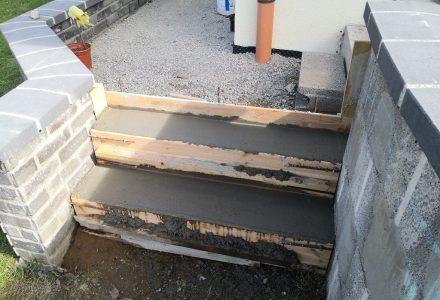 Zwei weitere Treppen für den Hochweg
